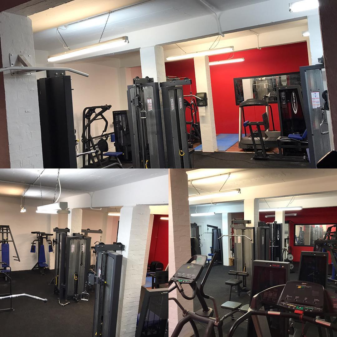 fully equipped gym in jewellery quarter